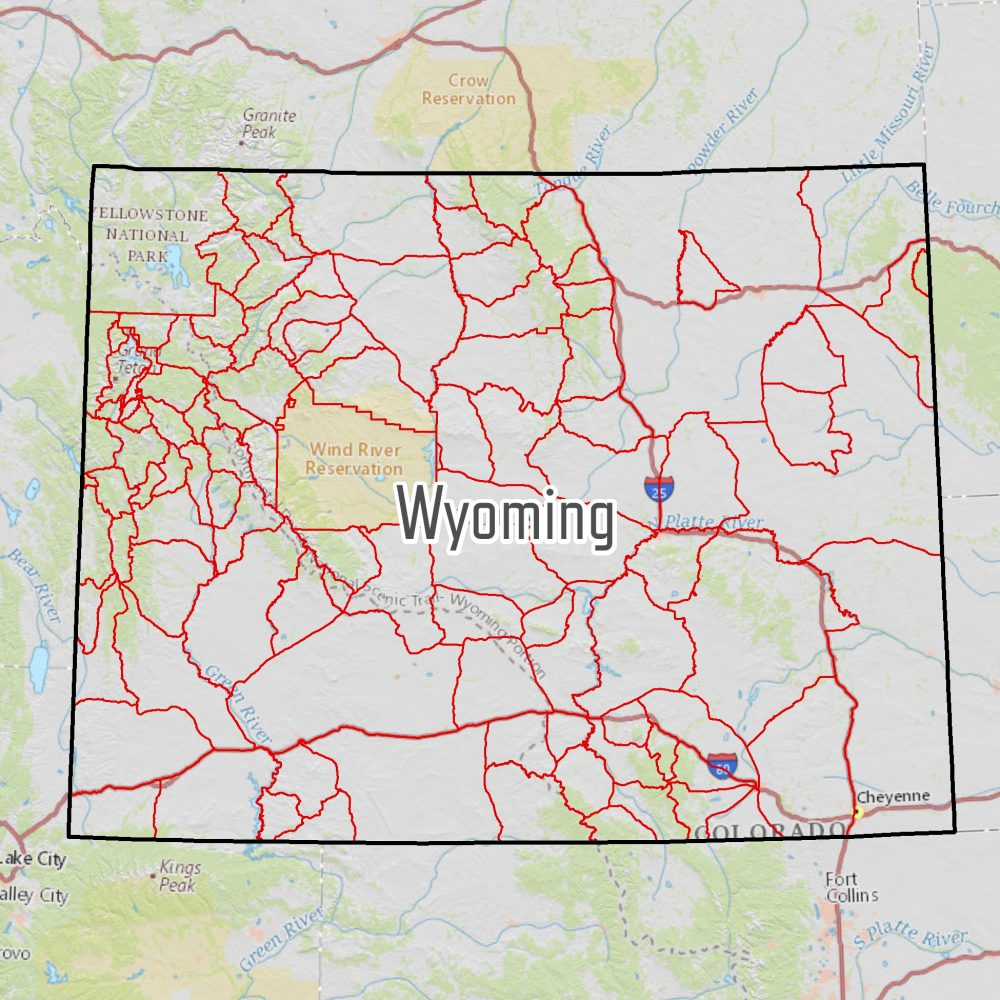 Wyoming Elk Hunting Maps