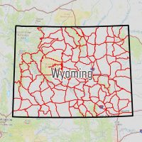 Wyoming Hunting Maps