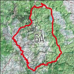 Unit 6a Arizona Map.Arizona Digital Maps Game Planner Maps Hunting Maps Hunting Gps